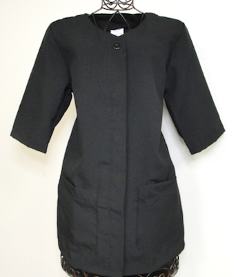 polyester coat for salon personnel