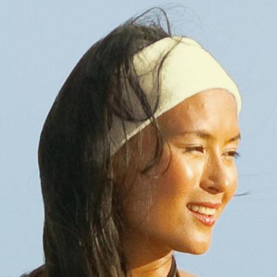Beige Hair Restraint for Facials