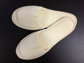 foot cover for pedicure treatment or spa guests