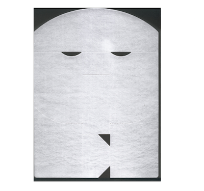 Disposable masks containing collagen for facial treatments