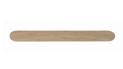 tongue depressor size wooden stick for wax application