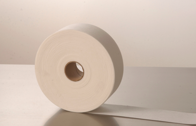 Roll of epilating strips made of pellon