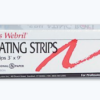 high quality precut epilating strips for wax removal