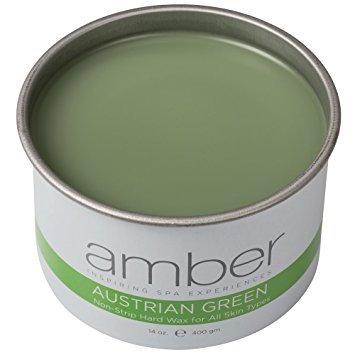 green non-strip hard wax in 14 oz can