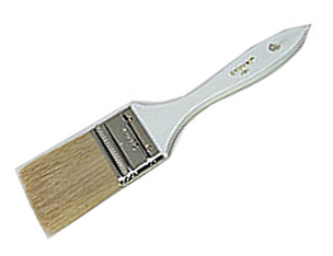 Large brush for applying products in body treatments