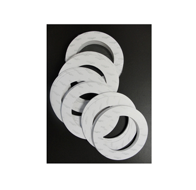 Paper rings for wax cans