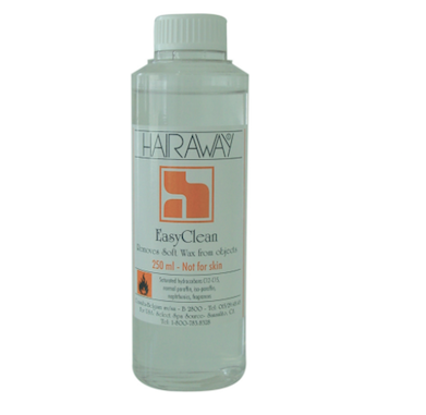 removes wax residue from equipment and surfaces