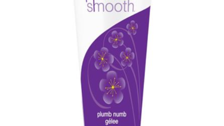 New! Plumb Numb for Painless Waxing