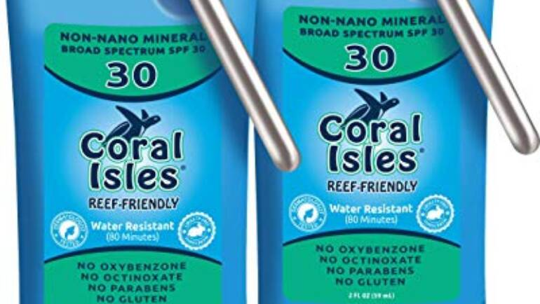 Coral Isles Reef Friendly Sunscreen!